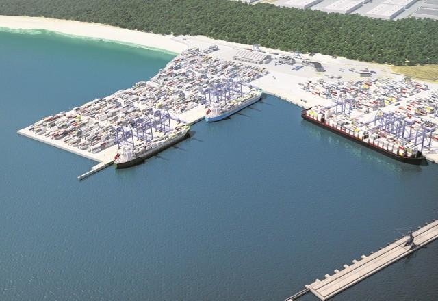 Nowe nabrzeże DCT zlokalizowane będzie prostopadle do istniejącego. Prace ruszą zimą. Gotowe ma być w 2016 roku