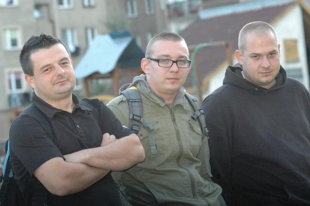 Jacek Martyniuk, Daniel Gródecki i Kamil Leitan mają wielką pasję – od dwóch lat zajmują infiltracją opuszczonych zabudowań