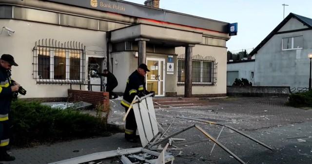 W piątek, 3 czerwca kilka minut przed 3 w nocy policja odebrała zgłoszenie o wysadzeniu w powietrze bankomatu przy banku PKO BP na ulicy Wągrowieckiej w Skokach. Przejdź do kolejnego zdjęcia --->