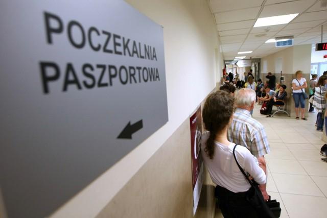 W rozbudowanym budynku znajdą się m.in stanowiska,w których złożymy wniosek o paszport.