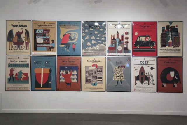 Plakaty Dawida Ryskiego