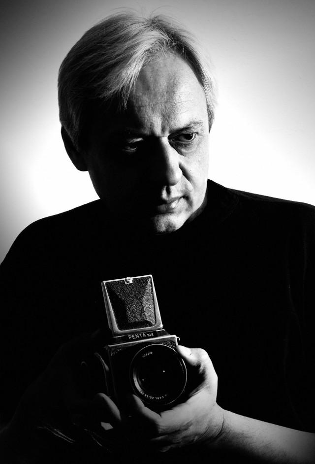 Artysta fotografik Piotr Węcławski