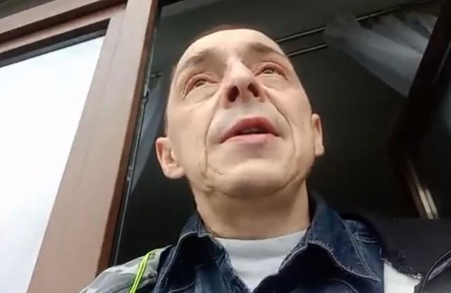Krzysztof Dymkowski doprowadził do zatrzymania kolejnego pedofila.
