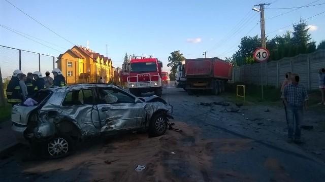 Poważny wypadek zablokował drogę na kilka godzin.