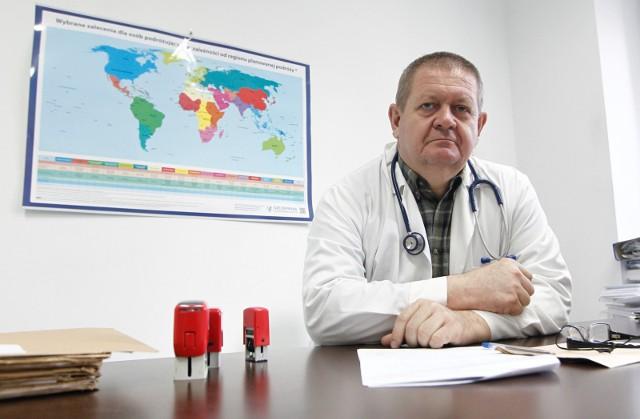 Lek. med. Janusz Kaliszczak