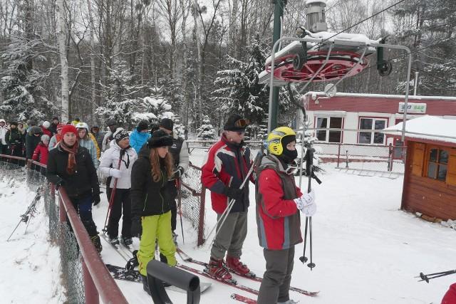 Ośrodek narciarski na Malince jeszcze niedawno był tłumnie odwiedzany przez amatorów białego szaleństwa...