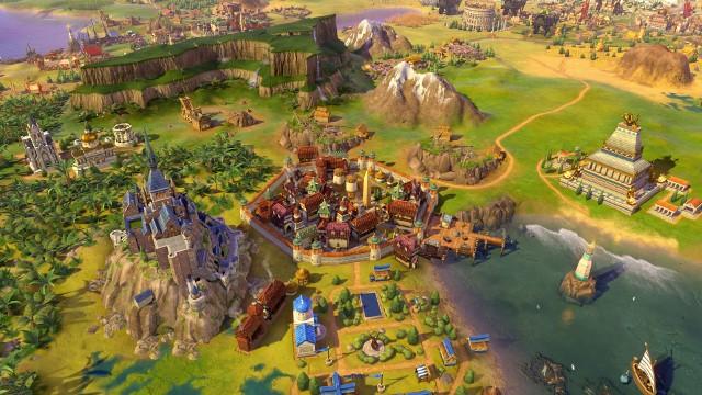 Sid Meier's Civilization VIGruzińskie miasto w grze Civilization VI: Rise and Fall