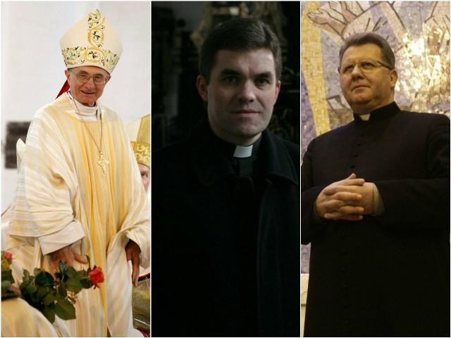Od lewej: ks. infułat Stanisław Bogdanowicz, ks. prał. Zbigniew Zieliński, ks. prałat Henryk Lew Kiedrowski