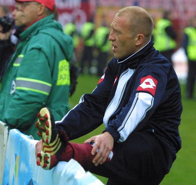 Artur Bugaj nie zagra w ostatnim meczu z Guarani. Napastnik Pogoni doznał kontuzji podczas jednego z treningów.