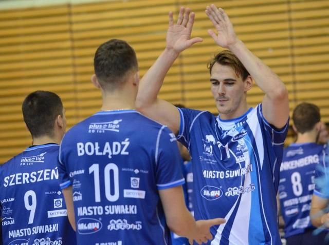 Siatkarze Ślepska Malow Suwałki z czterech meczów wyjazdowych w tym sezonie wygrali jeden