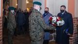 """Narodowy Dzień Pamięci """"Żołnierzy Wyklętych"""". Stargardzkie obchody 1 marca 2021 roku w obiektywie Tadeusza Surmy"""