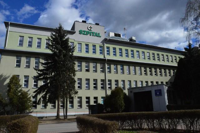 Szpital powiatowy w Myślenicach - budynek główny