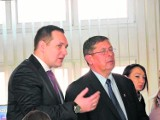 Starosta Piotr Rećko i były starosta Franciszek Budrowski sprzeczają się o sokólski szpital
