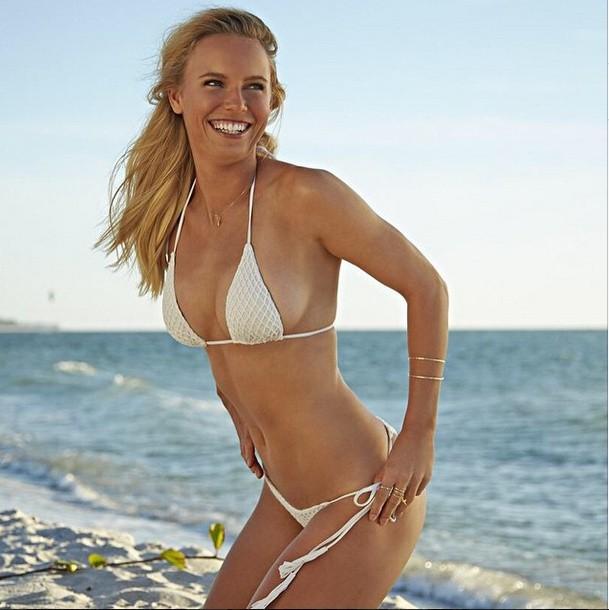 Karolina Woźniacka w bikini. Sesja dla Sports Ilustrated