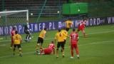 GKS Katowice - Skra Częstochowa ZDJĘCIA, WYNIK GieKSa odwróciła losy meczu w końcówce. Skra nie strzeliła karnego i kończyła w dziesiątkę