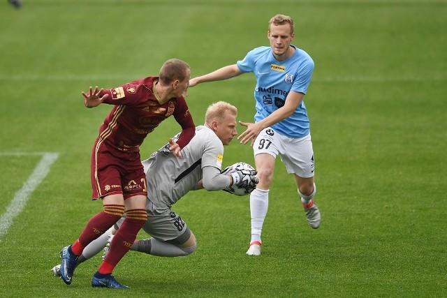 Chojniczanka Chojnice po porażce 0:1 w Olsztynie ze Stomilem zagra w środę w Bełchatowie
