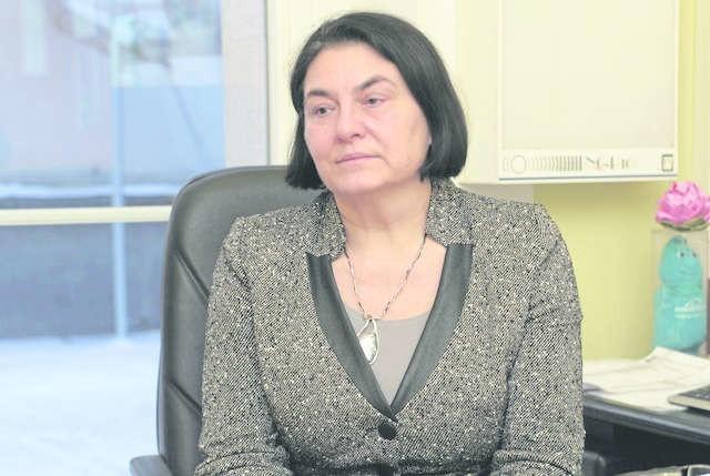 Konsultant wojewody dr Irena Daniluk-Matraś, kierownik oddziału klinicznego chirurgii szpitala im. Jurasza