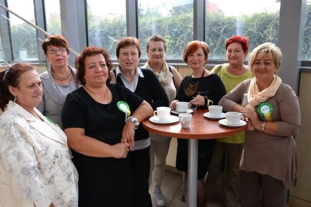 Kobiety ze Stowarzyszenia Amazonek Wschowskich przyjechały na IV Lubuski Kongres Kobiet po raz pierwszy. - Takie spotkania są nam, kobietom potrzebne -przyznały