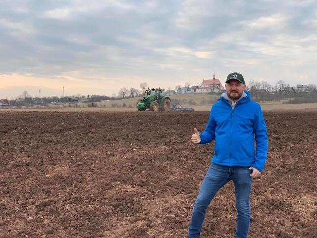 Stefan Sikora, prezes spółki BIO-MED, właściciel gospodarstwa rolnego w Odrowążu