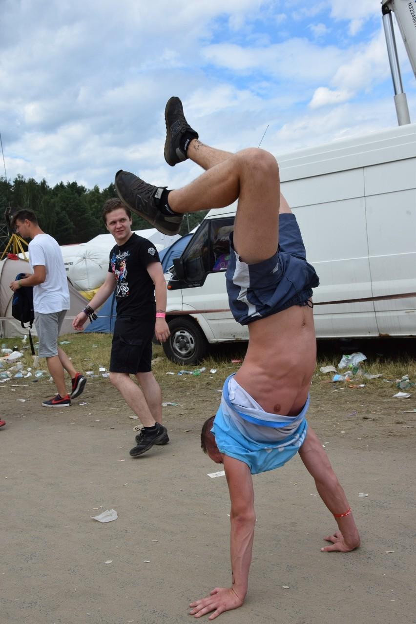 Sobota (5 sierpnia) była ostatnim dniem Przystanku Woodstock...