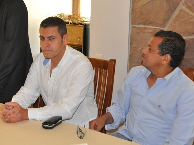 Egipcjanie w Suchedniowie. Chcą wybudować SPAEgipcjanie: Mohamed Hamed Elbasyouni (z lewej) i Mohamed Farrag planują inwestować w Suchedniowie.