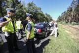 Wypadek na drodze Zielona Góra - Krosno Odrzańskie. W tył skody z dużą siłą uderzył kierujący roverem [ZDJĘCIA]
