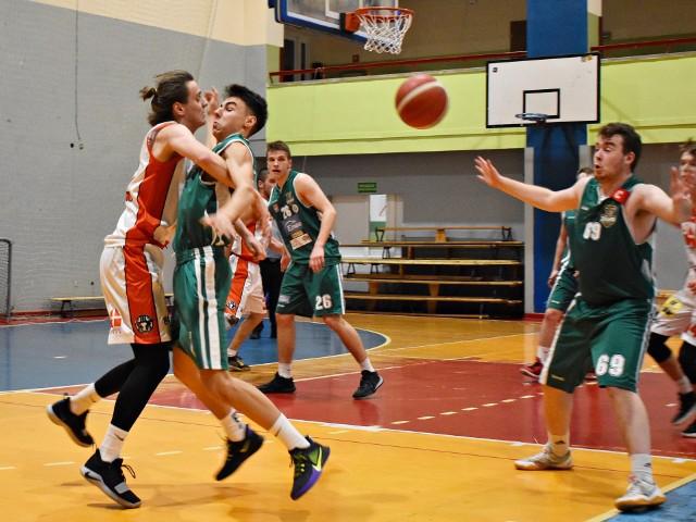 Mecz Tur II Basket Bielsk Podlaski - Żubry Białystok