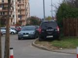 Jak oni parkują: SUV-y lubią błoto