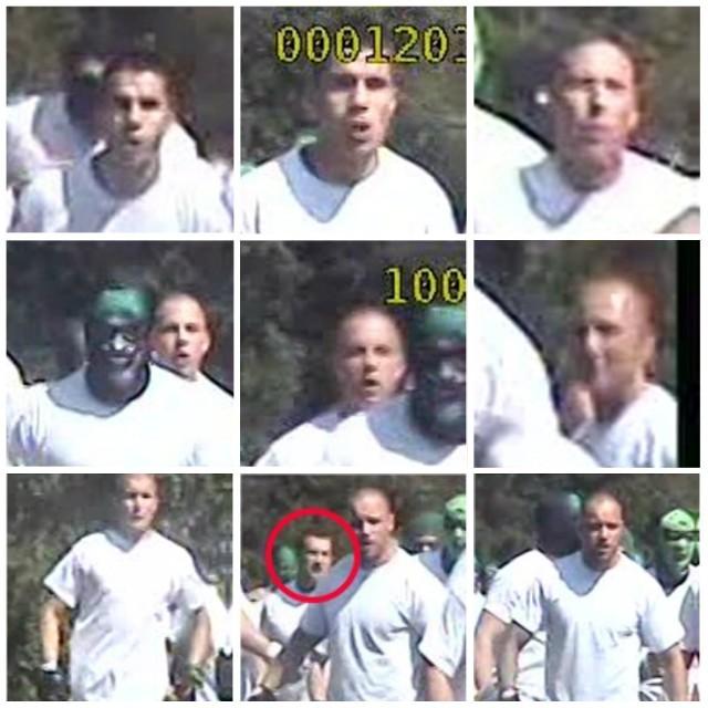 Wizerunki osób, które miały brać udział w ataku na autokary.Polecamy: Nowe autobusy w Toruniu