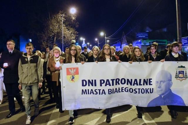 Dnia Patronalne Białegostoku 2017. Procesja ulicami miasta