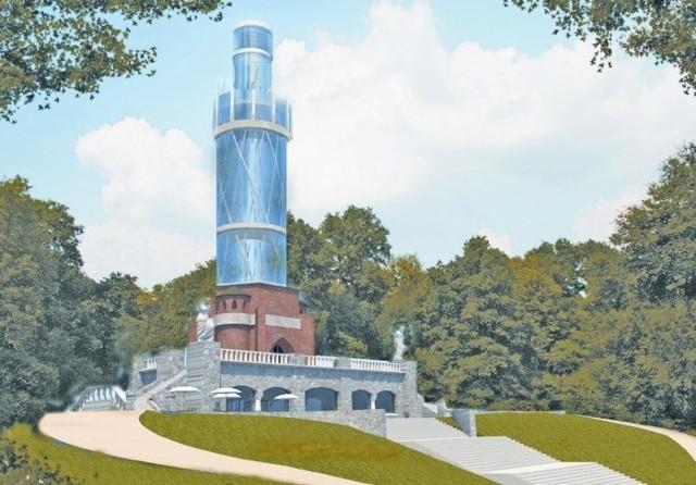"""Projekt nowej wieży Quistorpa przygotowała Pracownia Projektowa """"Abrys"""""""