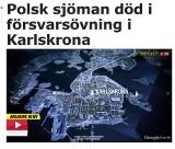 Żałoba w szwedzkim porcie. Zginął żołnierz ze Świnoujścia