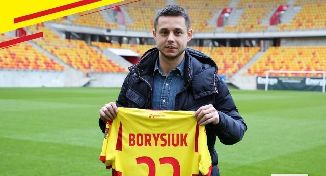 Ariel Borysiuk wybrał numer 23.