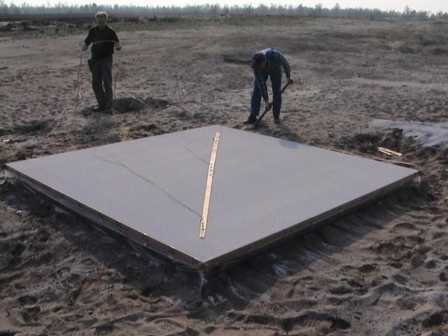 W Polsce jest tylko jedno miejsce, w którym Explomet może dokonywać łączenia metali za pomocą wybuchów. Korzysta z poligonu w Św