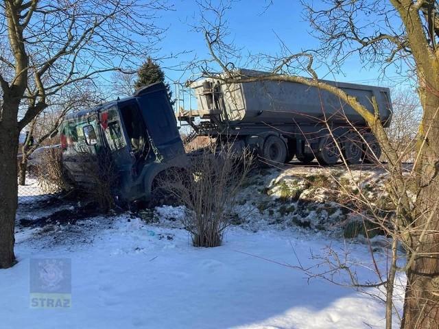 Tragiczny wypadek na DW 964 w Strzelcach Małych