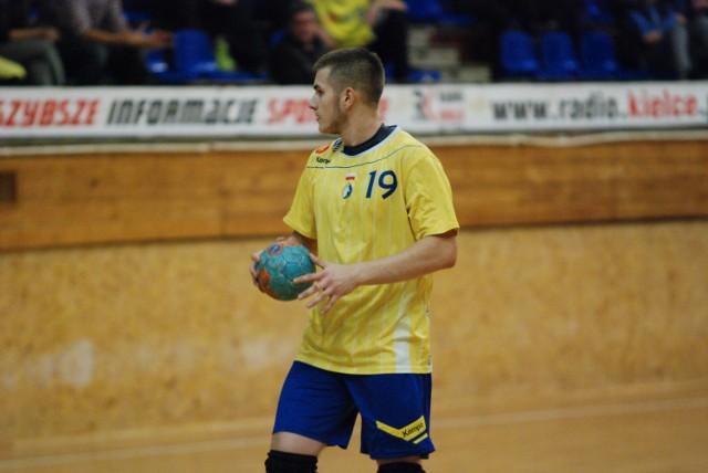 Bartłomiej Bis, młodzieżowy reprezentant Polski z Vive Tauronu Kielce.