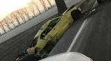 Wypadek pod Strzelinem. Samochód dachował na łuku drogi (ZDJĘCIA)