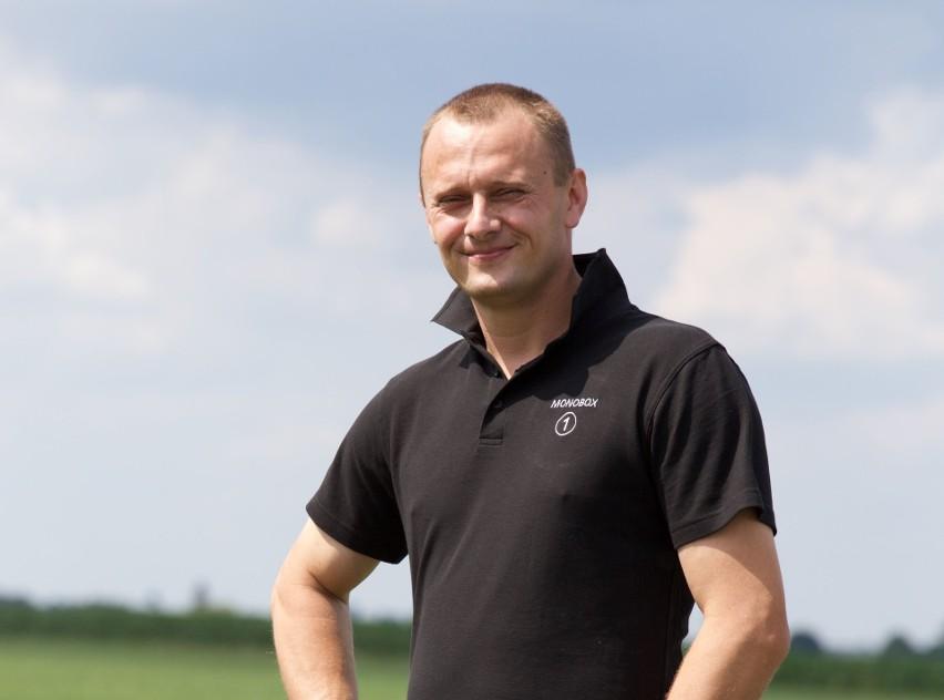 Wojciech Grabowski ma II lokatę w konkursie Nasz Rolnik. I ambitne plany