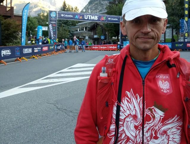 Bartosz Pliszka spełnił swoje kolejne biegowe marzenie - startował w Ultra Trail du Mont Blanc