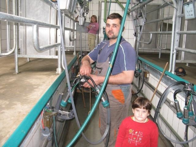 Wielu rolników wyspecjalizowało się w produkcji mleka