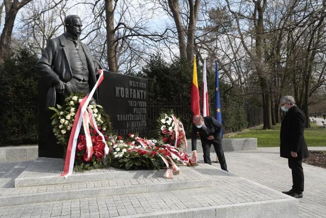 W stolicy po raz drugi odsłonięto pomnik Korfantego.