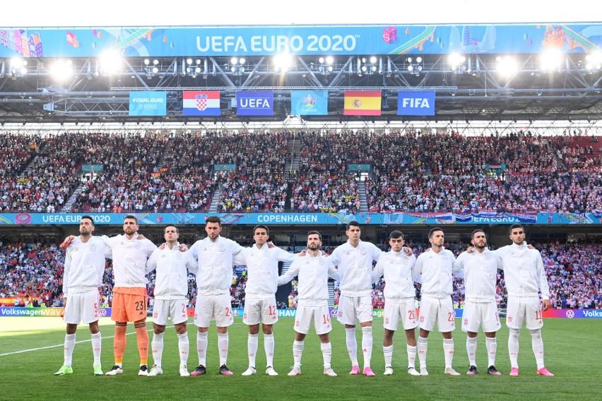 Euro 2020. Jazda bez trzymanki! Hiszpania wygrała 5:3 i jest w ćwierćfinale. Dla Chorwacji to koniec turnieju