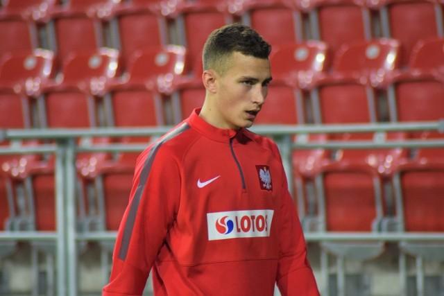 Dominik Sokół nie zagra w towarzyskim meczu reprezentacji Polski do lat 20 z Niemcami.