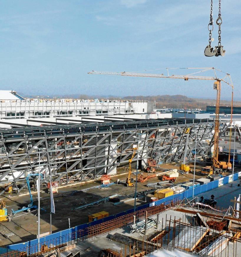 Budowa nowego terminalu zakończy się za pół roku
