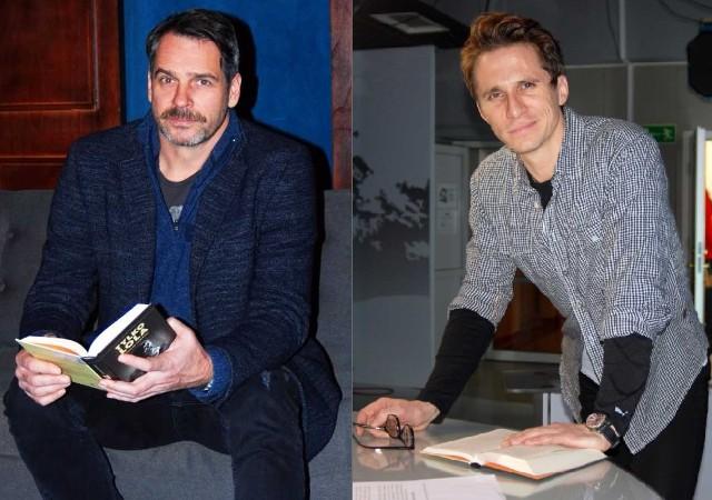 Do grona ambasadorów Biblioteki w Samsonowie dołączyli znani aktorzy: Paweł Deląg i Sambor Czarnota.
