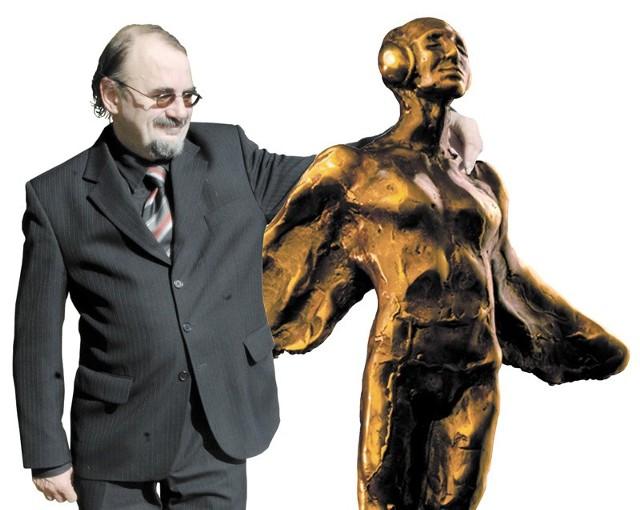 Fryderyk - najważniejsza nagoda branży muzycznej w Polsce w objęciach nalepszego w Polsce poety.