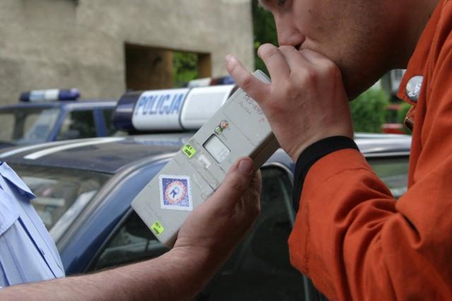 Pijany kierowca miał 2,6 ,6 promila alkoholu w organizmie
