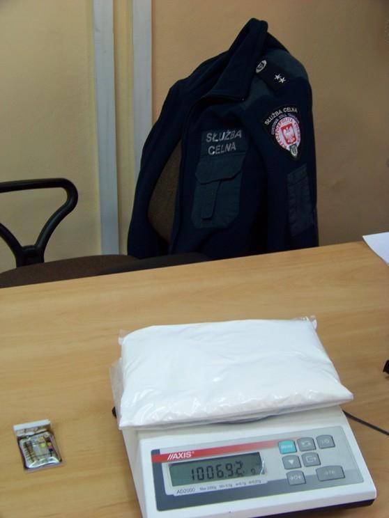 W pierwszym półroczu 2011 r. Służba Celna zatrzymała w całym kraju ponad 75 kg amfetaminy.