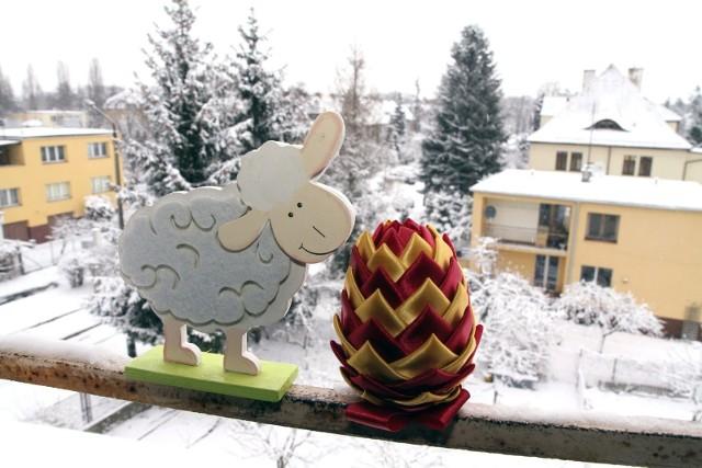 Zima na Wielkanoc 2013. Na kolejnych zdjęciach - zasypane Katowice, Gliwice i Chorzów w kwietniu 2013