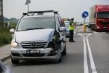 Kolizja samochodu z kolumny prezydenckiej w Folwarku pod Opolem. Zderzył się z autem osobowym. Mandat dla funkcjonariusza SOP